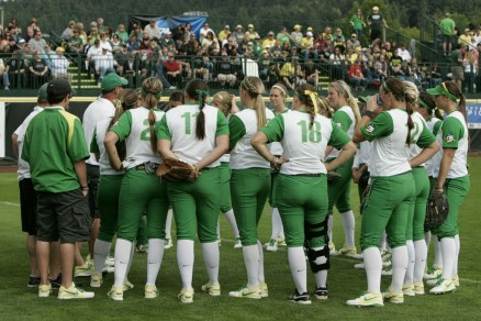 The Ducks softball team had quite the season but were trumped in the Super Regionals