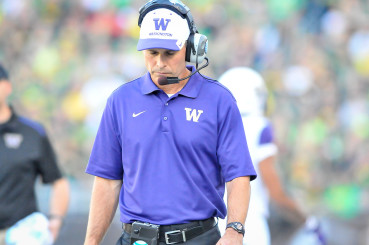 A downcast Chris Petersen would not be the first former Boise State coach to struggle on a bigger stage.
