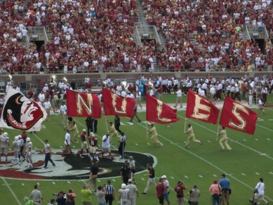 FSU looks to be waving their flags all the way to Pasadena this year.