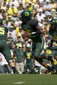 Dennis Dixon, a similar player to Mariota, was a Heisman frontrunner before an injury cut his season short in 2007.
