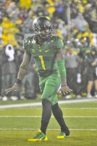 Josh Huff continues to pile up yards and touchdowns.