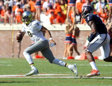 Would a healthy Marcus Mariota have made a difference against Stanford in 2013?