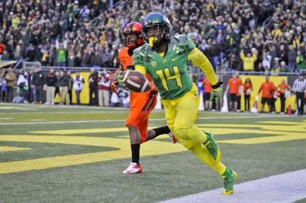 Could Baker be the next great Oregon DB? Or will he play offense?