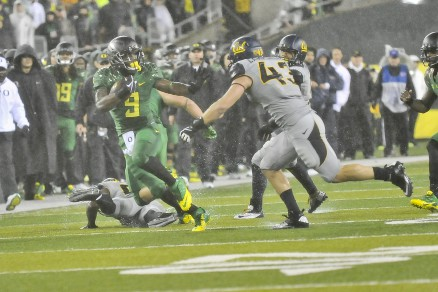 Oregon is running away from the competition in recruiting