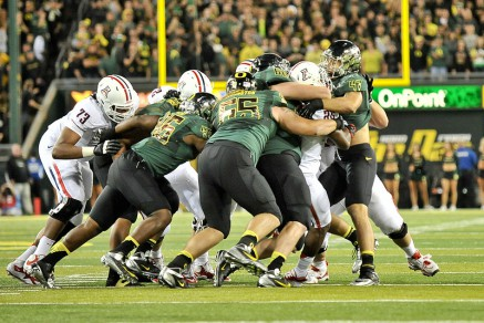 The Ducks needed more tackles for loss to stuff the run in 2013.
