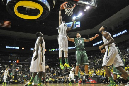 Elgin Cook throwing it down like a boss.