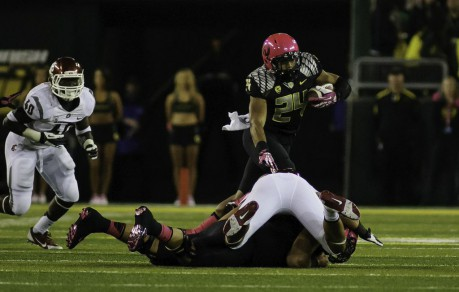 Thomas Tyner never shies away from a hit.