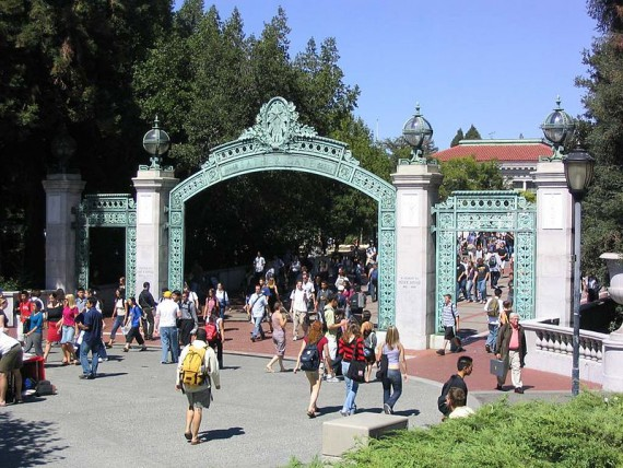 The college in Monsters University is said to be modeled on UC-Berkeley.