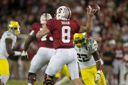 Kevin Hogan against Oregon