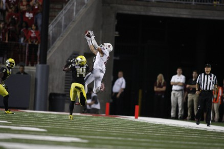 River Cracraft had 8 receptions for 107 yards and a TD