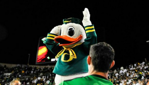 The Duck had plenty to smile about on Saturday