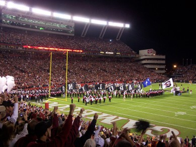 William-Brice Stadium will likely be loud as the Gamecocks host No. 6 Georgia this week.