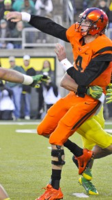 Beaver Quarterback Sean Mannion