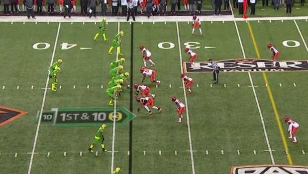 Looks like any play beginning until we notice who is at QB!