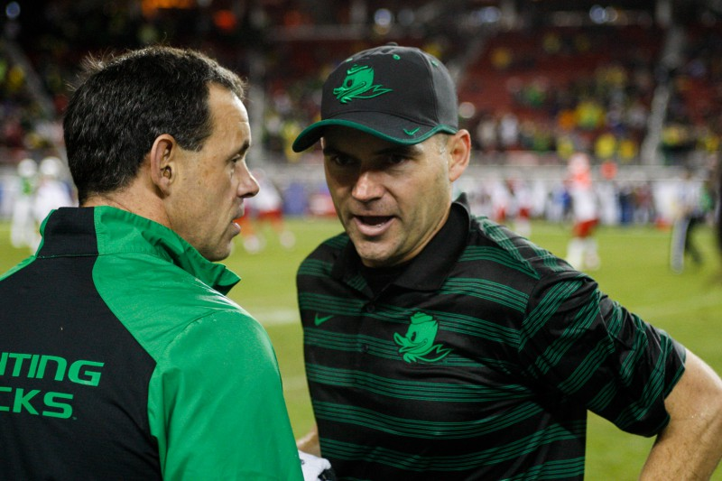 Among Helfrich's other accomplishments, he developed Marcus Mariota.