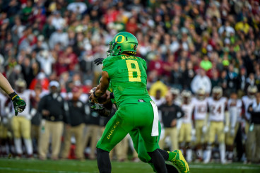 The replacement of quarterback Marcus Mariota remains on the top of the list for the Oregon football program.