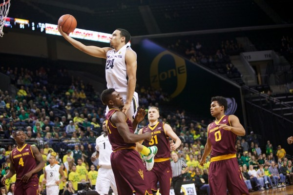 The young guys helped lead Oregon to a close win over Pac-12 foe Arizona State. Photo: Donald Alarie