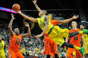 Joseph Young scored 23 points in one of his last games with Oregon. Young has truly been a pivotal player for the Ducks since the first day he arrived in Oregon.