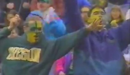 1994 painted Duck Fans