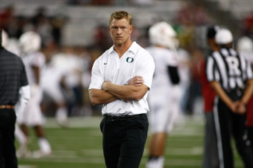 As an offensive coordinator, Frost has to carry the burden of replacing more than just Mariota.