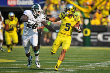 Hopefully more teams schedule match ups like the Oregon vs. Michigan State in the future