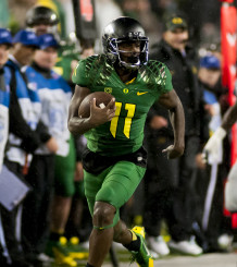 One of Oregon's most dynamic play makers is back, and he's hungry.