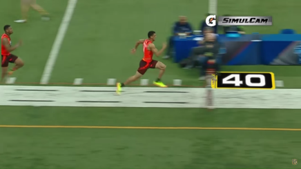 Marcus Mariota was about a half-second faster than Winston in the 40-yard dash