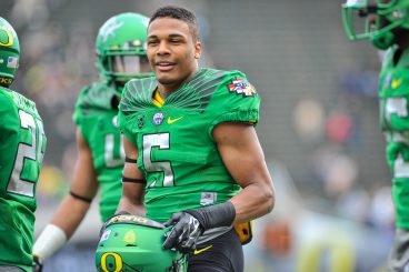 He has obstacles in front of him but Taj Griffin is set to be another impact freshman RB for the Ducks.