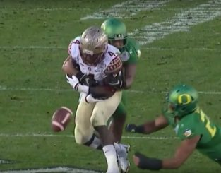 Another FSU turnover meant another touchdown for the Ducks