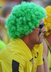 This fan is ready for a great Oregon team!