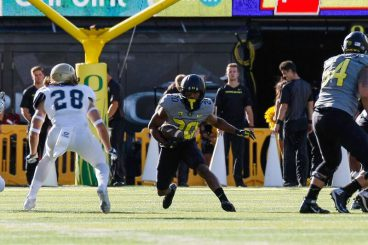 Brooks-James leads team in rushing touchdowns